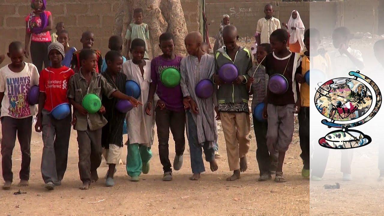Almajiri children. Photo: YouTube
