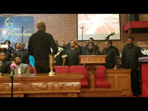 Morgan State University Alumni Choir under direction of Angelo Johnson