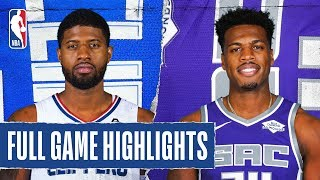 CLIPPERS at KINGS | FULL GAME HIGHLIGHTS |  December 31, 2019