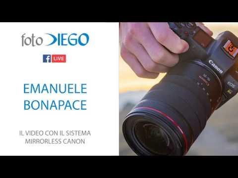 Emanuele Bonapace - Il video con il sistema mirrorless Canon.