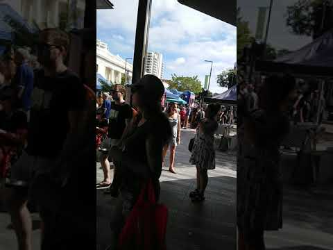 Flinders Mall Sunday Markets Townsville QUEENSLAND