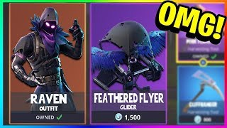 "THE ""RAVEN"" CHARACTER SKIN! Unlock NEW Legendary Skins in Fortnite! (Fortnite Battle Royale)"