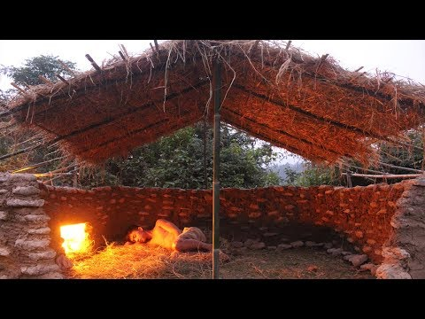 Primitive Technology: Stone House Part 13