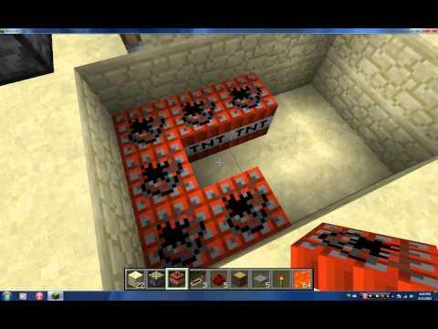 Minecraft Tnt Tuzakları Bölüm 1