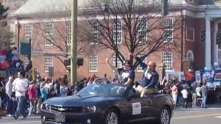 Uconn Victory Parade And Rally - Clip 3 - Behs Band - Siberian Husky Club - 4-13-14