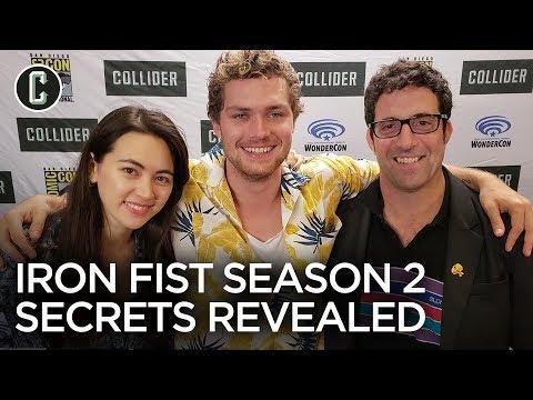 Iron Fist: Finn Jones, Jessica Henwick & runner Raven Metzner Reveal Season 2 Secrets