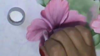 Cuidados com seu material de pintura e mais dicas de pintura: ibisco