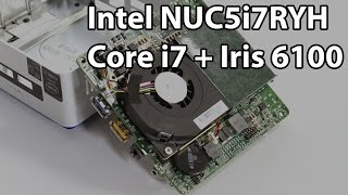 Intel Nuc5i7ryh Sff System Review - Broadwell And Iris Graphics