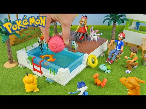Pokemon Vacation - New PokeBall Bath Bomb - Surprise Toys