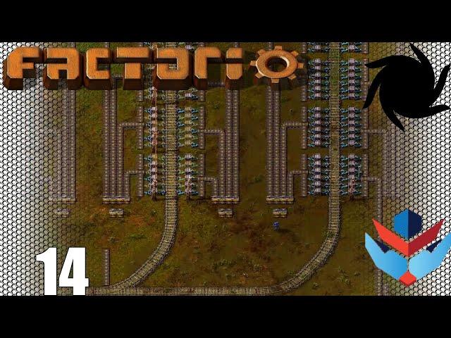 Factorio 1.0 Multiplayer 1K SPM Challenge - 14 - Stations and Splitters