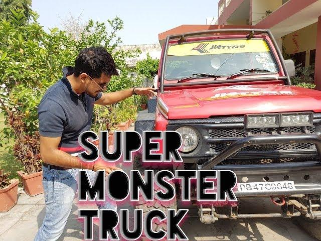 SUPER MONSTER (MARUTI GYPSY) FULL OFF ROAD MODIFICATION