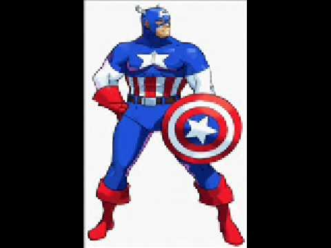 captain america theme marvel vs capcom music youtube. Black Bedroom Furniture Sets. Home Design Ideas