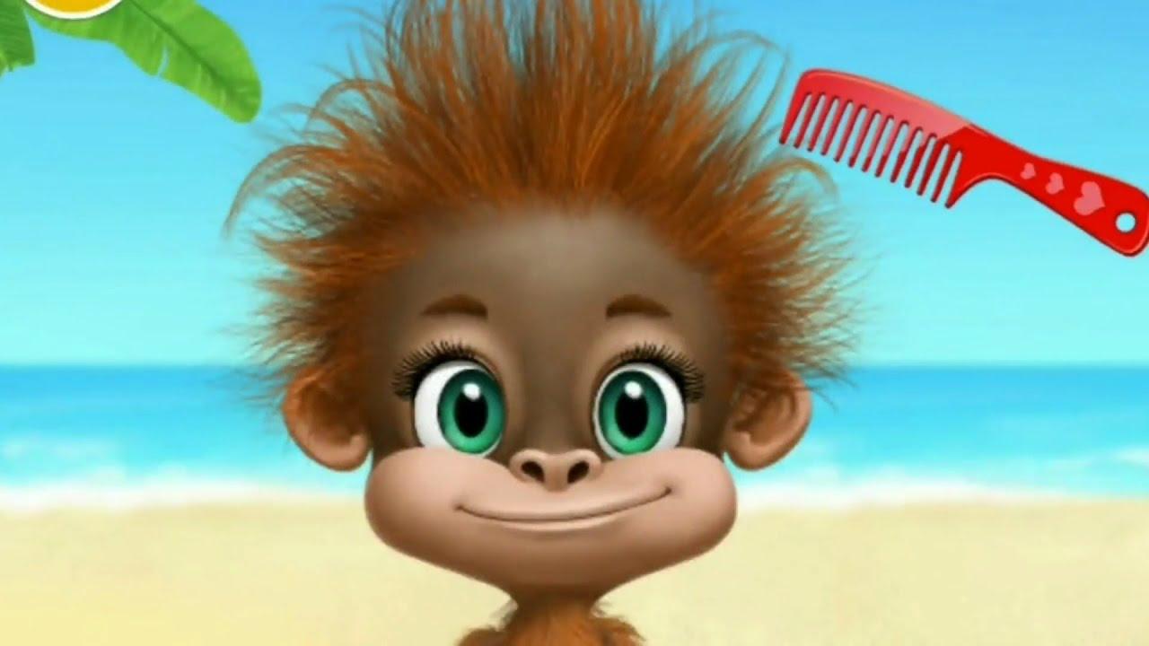 Fun Animals Care - Jungle Animal Hair Salon 2 - Gameplay Makeover ...