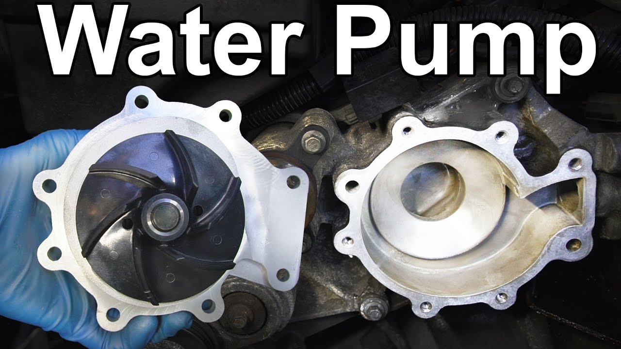 How To Change A Water Pump >> How To Replace A Water Pump And Save 783