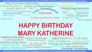 MaryKatherine   Languages Idiomas - Happy Birthday