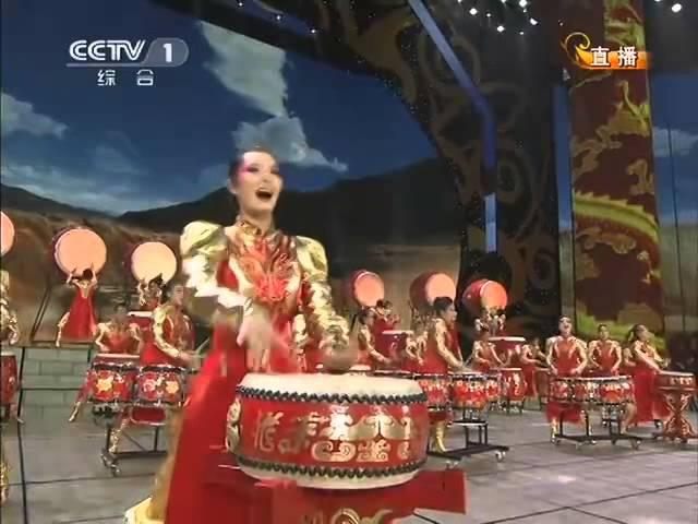 2012龙年春晚武术舞蹈《鼓韵龙腾》| CCTV春晚