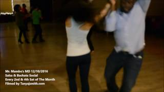 Johnny Johnson & Veronica Yeh salsa Dance at Mr. Mambo's MD