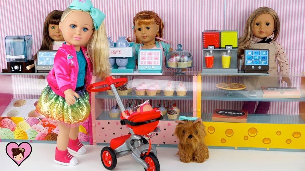 Jojo Siwa Babysitting Baby Doll In Ag Doll Cupcake Amp Slime