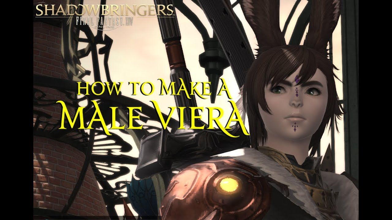 How to Make a Male Viera || FFXIV Benchmark (No Mods)