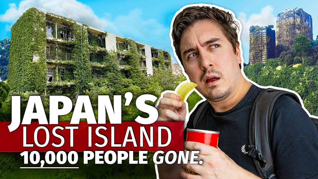 I Explored Japan's Largest ABANDONED Island | Why 10,000 People Disappeared