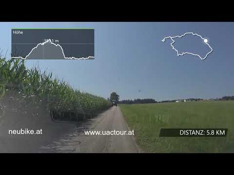 Streckenvideo 3. Etappe UACTour 2020 Schärding