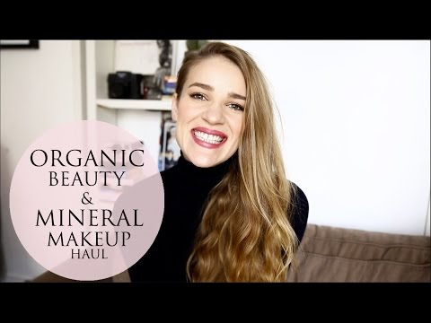 Organic Skincare and Mineral Makeup Haul - London