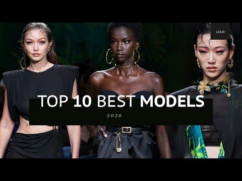 Top 10 Best Models of 2020 | Runway Collection