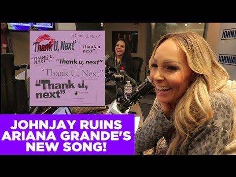 In-Studio Videos - Johnjay Ruins Ariana Grande's 'Thank U, Next'