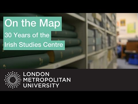 On the Map: 30 Years of the Irish Studies Centre