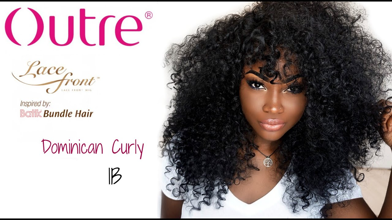 Outre Dominican Curly Lace Wig Epic Uk Review Styling Youtube