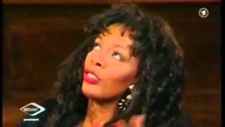 Donna Summer speaking German (RIP)