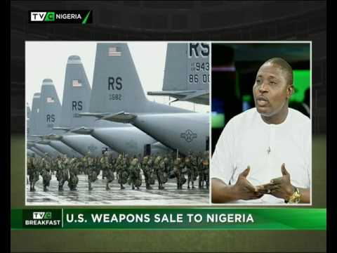 U.S. Weapons sale to Nigeria
