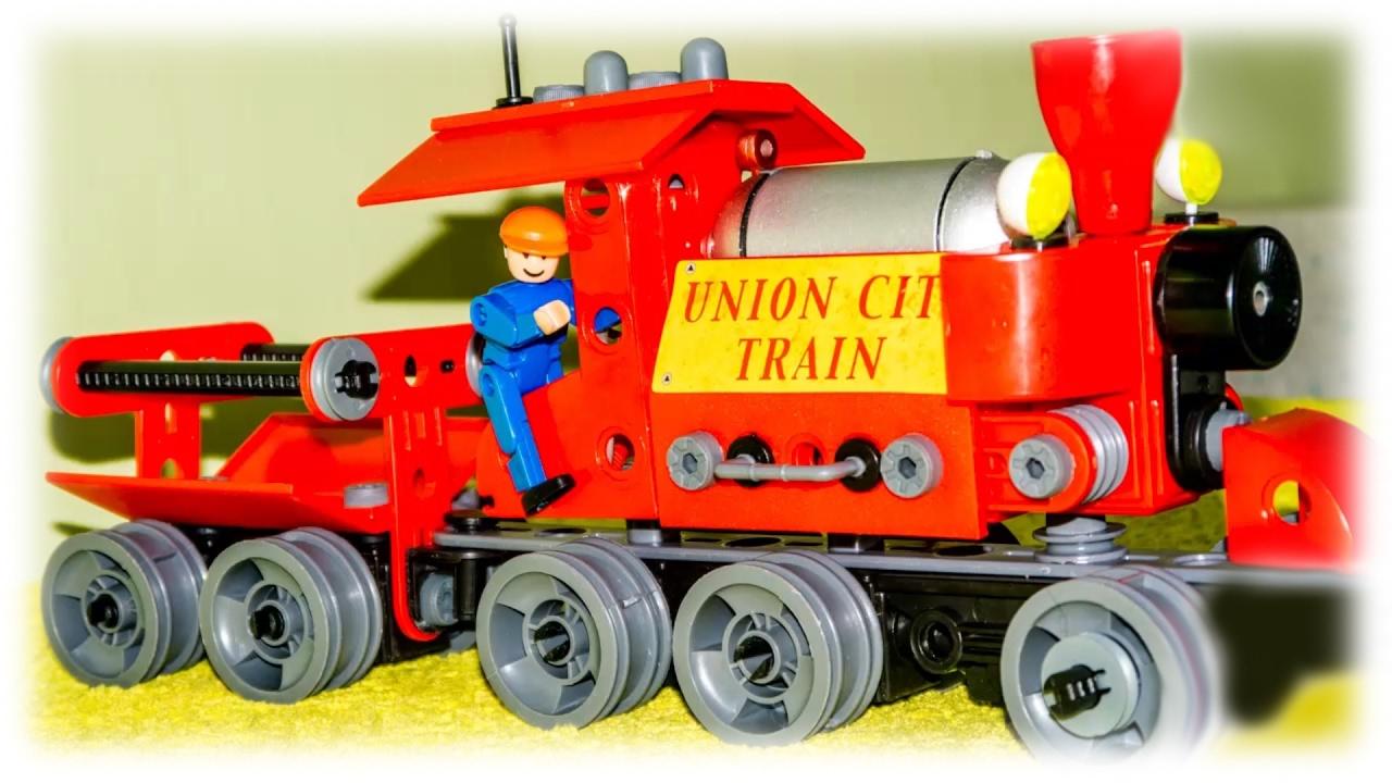 «Contains 207» Toy Train Designer