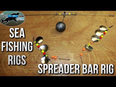 Sea Fishing Rigs - THE SPREADER BAR RIG | TAFishing