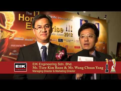 EIK Engineering  Sdn. Bhd. - 11th Asia Pacific International Honesty Enterprise KerisAward