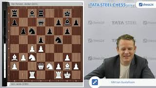 Giri - van Foreest, Tata Steel Chess 2019: The Battle of the Dutch!