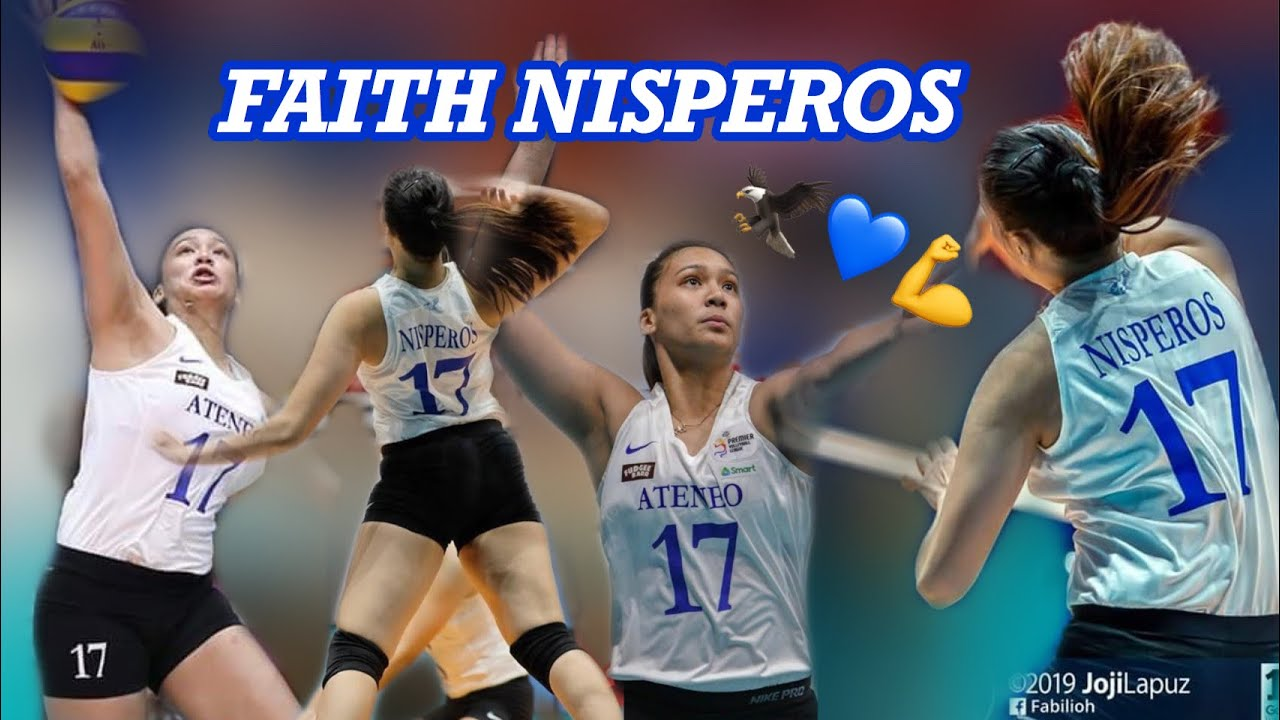 Rookie FAITH NISPEROS — NAGPAKITANG GILAS ON HER FIRST DEBUT GAME AS LADY EAGLE ???????????? PVL 201