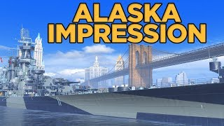 World of Warships - Alaska Impression