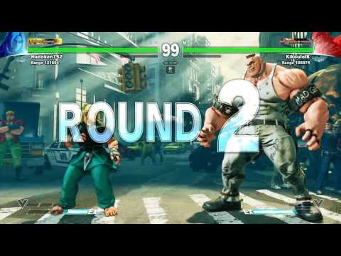 SFV: Ken vs Abigail Silver League