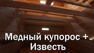 видео О пропитке деревянного сруба