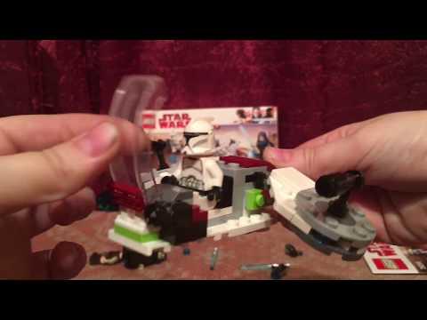 LEGO Star Wars Battle Pack 75206