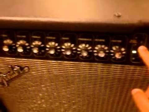 Fender Cyber Twin Problems