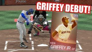 99 Immortal Ken Griffey Jr. Debut! Felix Hernandez Throws