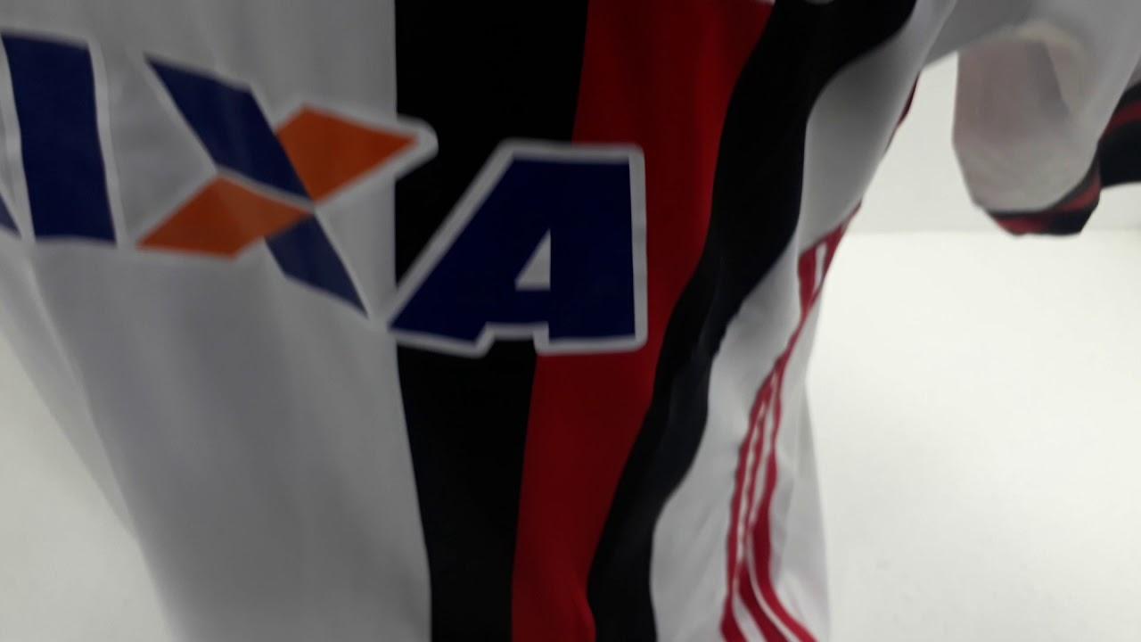 83e68ebc57b Camiseta Adidas Flamengo ll Branca 2017 2018 - YouTube
