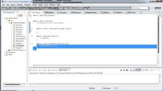 Java Tutorial Teil 49 - Benutzereingaben - API und Packages