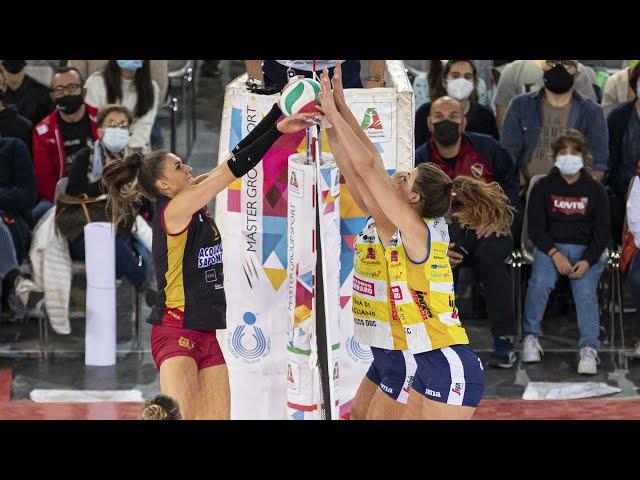 Roma - Conegliano | Highlights | 2^ Giornata Campionato | Lega Volley Femminile 2021/22