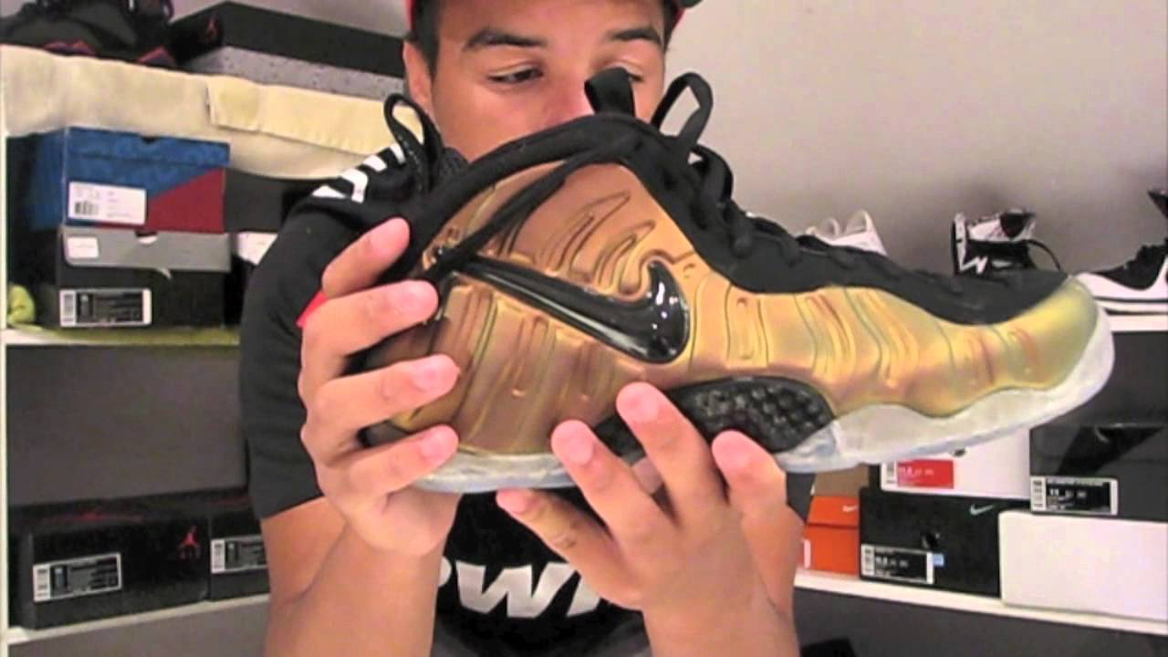 59394695638d3 Nike Air Foamposite Pro Gym Green Black w On foot - YouTube