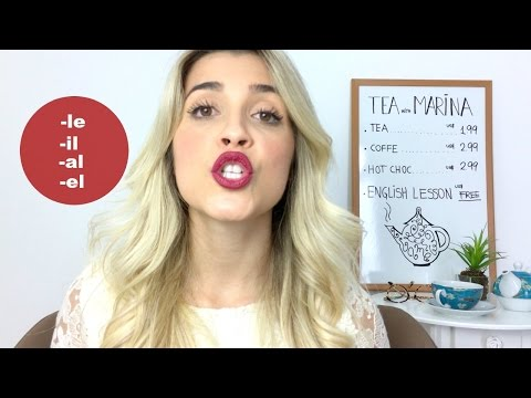 Apple and not Apow: L Pronunciation in English   Pronunciation   Eng