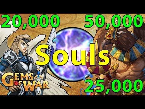 Gems of War: Best Soul Farming Teams | 10,000 - 50,000 Souls Per Hour