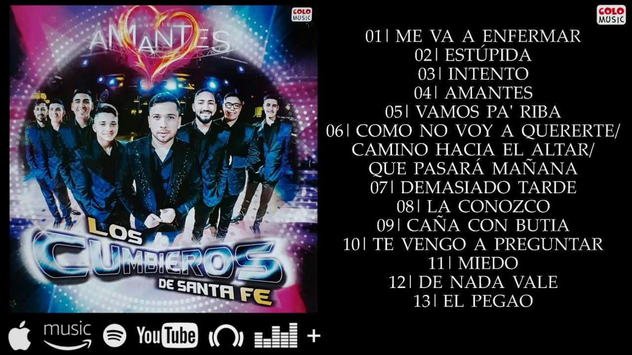Los Cumbieros - Amantes - Álbum Completo